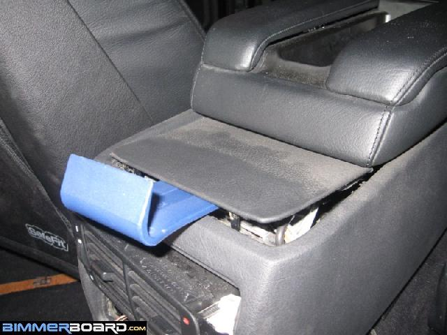 Airbag control module replacement (under center console)